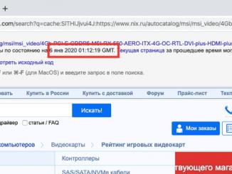 дата индексации сайта